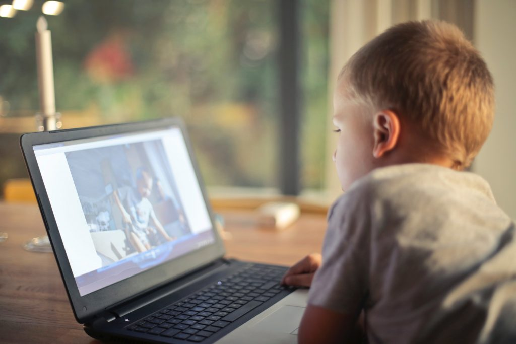 Kids can get into website design and blogging